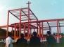 1973年11月4日 上棟式及びその前後